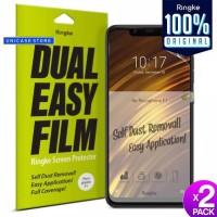Screen Protector Pocophone F1 Ringke Dual Easy Full Screen Guard