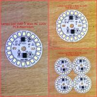 Lampu Led SMD 9 Watt AC 220V PCB Aluminium Diameter 40mm