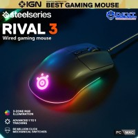 SteelSeries Rival 3 Wired Gaming Mouse
