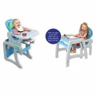 Baby Safe Separable High Chair Kursi Makan Bayi + Meja Belajar Anak