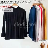 Baju Atasan Inner Manset Hamil dan Menyusui Elsha XL LD100