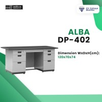 WA:081-1350-3860 Jual Meja Besi Meja Kantor Murah Malang Alba DP-402