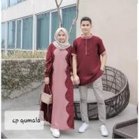 Baju Couple Pasangan Muslim QUMALA COUPLE