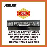 Baterai Asus Original N46VZ N56VZ N46VJ N56JR N46VM N56V N46JV N46V