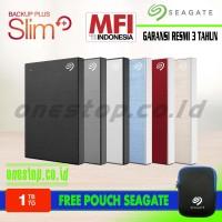 Seagate Backup plus Slim 1TB Harddisk External 2.5
