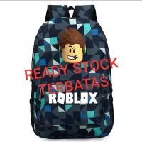 Tas Roblox minecraft anak sekolah ransel superhero school bag import