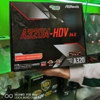 ASROCK A320M-HDV R4 AMD AM4 DDR4 USB 3.1 SATA 3 SUPPORT RYZEN