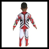Baju Anak Kostum Topeng Superhero Ultraman Go - Size 4