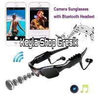 Mini DV Spy Cam Camcorder DVR Sun Glasses Camera with bluetooth + MP3