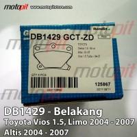 Bendix Kampas Rem Belakang Toyota Vios Limo Altis 2004 - 200 KOP bag