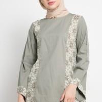 Blouse Muslim RA Hijab Filia Grey Premium