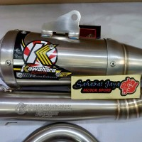 Knalpot Kawahara GT PRO Jupiter Z Vega R 200cc Road Race Ori foo sak