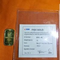 emas atam 10g bersertifikat