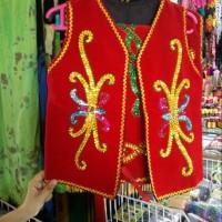 Baju Adat Dayak Anak Cewe Cowo/Usia TK dan SD/Etnik Dayak Kalimantan