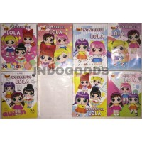 Buku Tulis YOU 58 Wonderful Lola by KIKY [GROSIR/ECER MURAH]