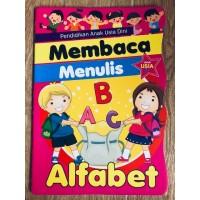 Buku Belajar Menulis Alfabet untuk PAUD dan TK