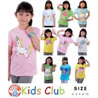Baju Kaos Anak Perempuan Mix Edition Lusinan