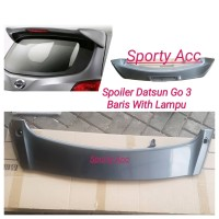 Spoiler Datsun Go with Lamp