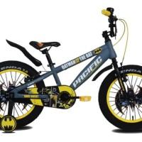 Sepeda anak BMX 18 inch Pacific Batman ban besar 3.0
