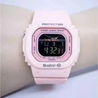 JAM TANGAN WANITA CASIO BABY-G DIGITAL STRAP RUBBER BG 550 SERIES