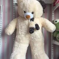 Boneka Teddybear jumbo/teddybear sall topi jumbo - Biru