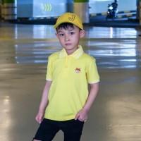 Polo Shirt Anak-Anak Warna Kunin Usia 1-9 Tahun| P011 by Little Jergio