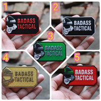 patch rubber logo baddas tactical new