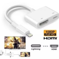 Kabel Converter Lightning to HDMI Full HD 1080P for Iphone Ipad ipod