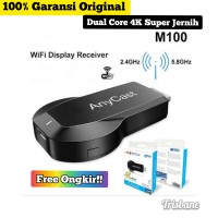 ANYCAST M100 4K WIRELESS DISPLAY DONGLE CLEARVIEW!!