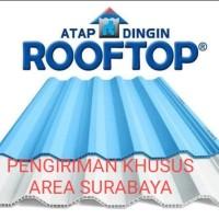 ATAP ROOFTOP Atap uPvc rooftop (Warna SEMI TRANSPARAN)