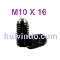 BALL PLUNGER / BALL POINT SET SCREW M10 X 16