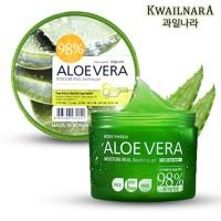 KWAILNARA 98% Aloe Vera Moisture Real Soothing Gel - Jar 300 ml