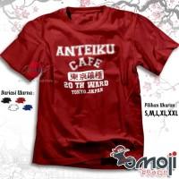 Kaos Anime Tokyo Ghoul Anteiku Cafe Baju Tshirt Distro Manga Jepang