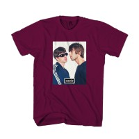 Kaos Oasis Noel And Liam Gallagher Graphic Man's T-Shirt