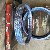 Velg TDR W Shape 1 set ring 14 biru
