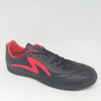 sepatu futsal specs ricco black red original new 2019