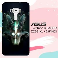 Casing Asus Zenfone 3 Laser ZC551KL Dota 2 Juggernaut Arcana L3124