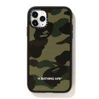 Bape X Casetify Green 1st Camo 11 Pro Case