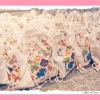 Tas ransel serut belacu tas ulang tahun desain suka-suka - PRINT 1 SISI