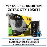 VGA Nvidia Zotac GeForce GTX 1050 Ti 4GB DDR5 OC Series - Dual Fan