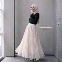 Rok Tutu Mutiara (P 94) Fashion Wanita Bawahan Rok Panjang