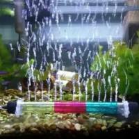 pipa gelembung udara aquarium airstone aerator 20 cm