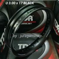 Velg TDR U shape 3.00 x 17 BLACK