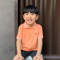 Polo Shirt Anak-Anak Warna Salmon Usia 1-9Tahun| P010 by Little Jergio