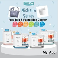 Oonew baby pure Food processor 6 in 1 steamer blender mpasi bayi