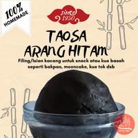 500 gr Taosa (Red Bean) dengan Arang Bambu Hitam   Filling kue