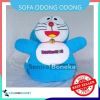 Sofa Odong Odong Karakter Doraemon Biru mainan kuda kudaan dora emon