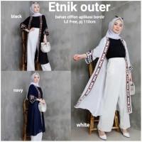 long outer etnik / cardigan wanita termurah / cardigan bahan moscrepe