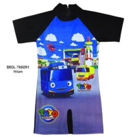 Baju Renang Diving Anak 3-7th Karaker Tayo BRD-TKK091