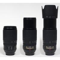 Lensa Tele Nikon AF-S VR Zoom- Nikkor 70-300mm f4.5-5.6 G IF-ED